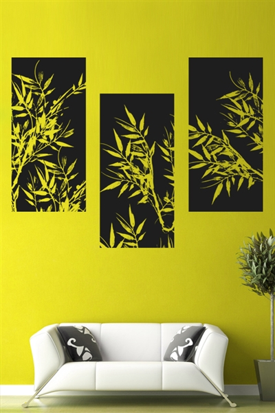 Bambou Panels- Wall Art Design and Ideas