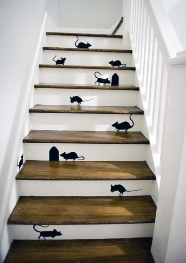Mice Stairs Decals Ideas