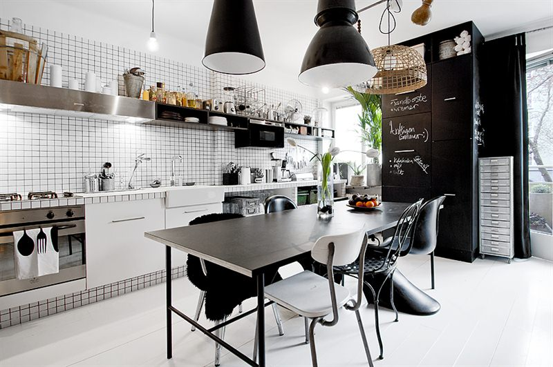 Merveilleux Awesome Masculine Kitchen (Via)