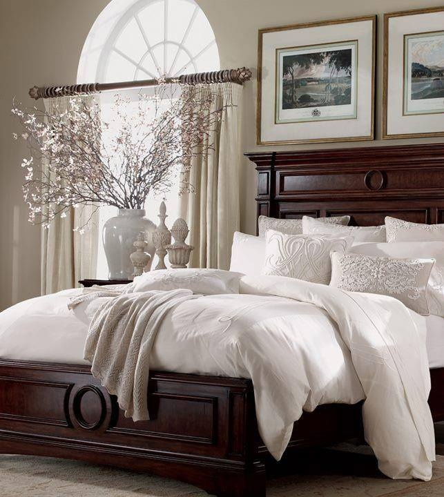 100 master bedroom ideas will make you feel rich Traditional wood headboard