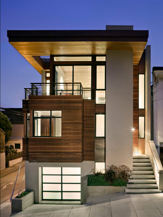 architecture art contemporary designs - Modern Home Exterior Wood