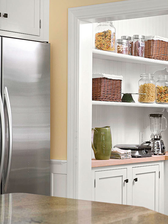 Butleru0027s Pantry. Enlist Vertical Storage. Neat Presentation Kitchen