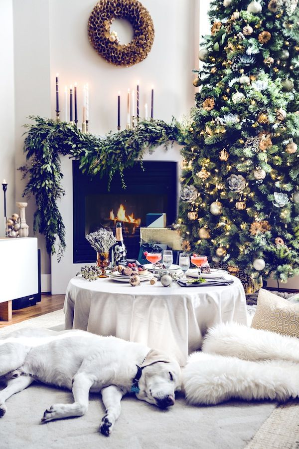 Christmas Living Room Decorations Ideas