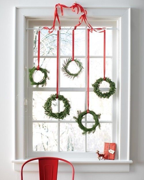 christmas window decoration ideas - Christmas Decoration Ideas