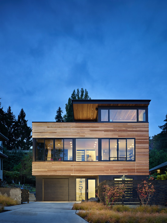 Exterior Contemporary Homes