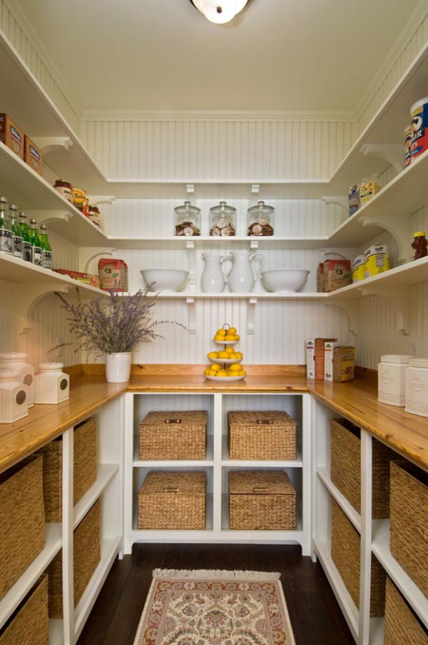 Kitchen Designs With Walk In Pantry Simple Ideas