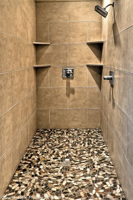 Master Bathroom Walk-In Shower