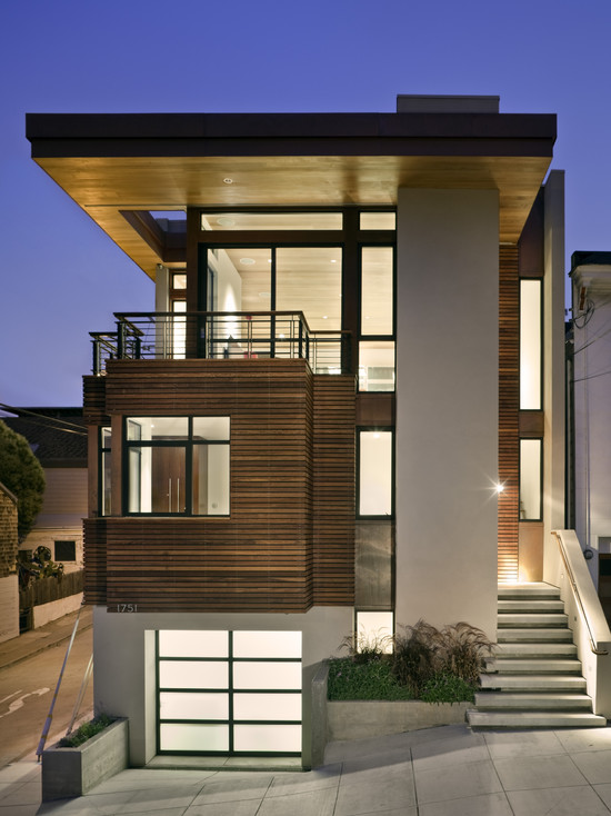 Contemporary Exterior Design Is Simple Choice For Folks Looking Minimalistic Aspect To Their Home Adding A Purpose The House