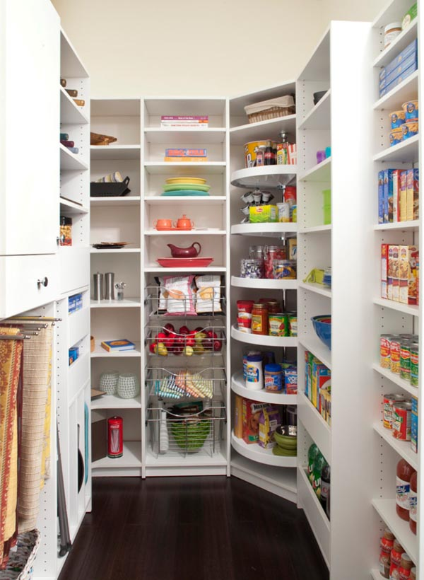 pictures of kitchen pantry options - Walk In Pantry Design Ideas