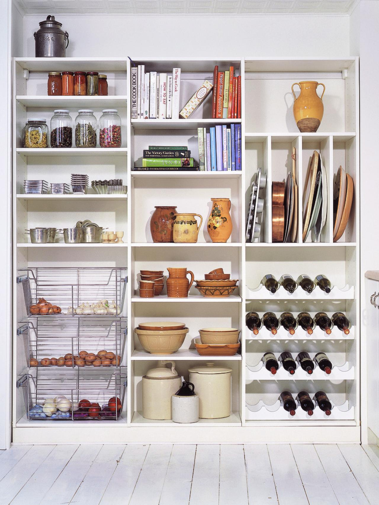 51 pictures of kitchen pantry designs ideas for Online shelf design tool