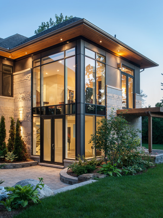 71 Contemporary Exterior Design Photos: window styles for contemporary homes