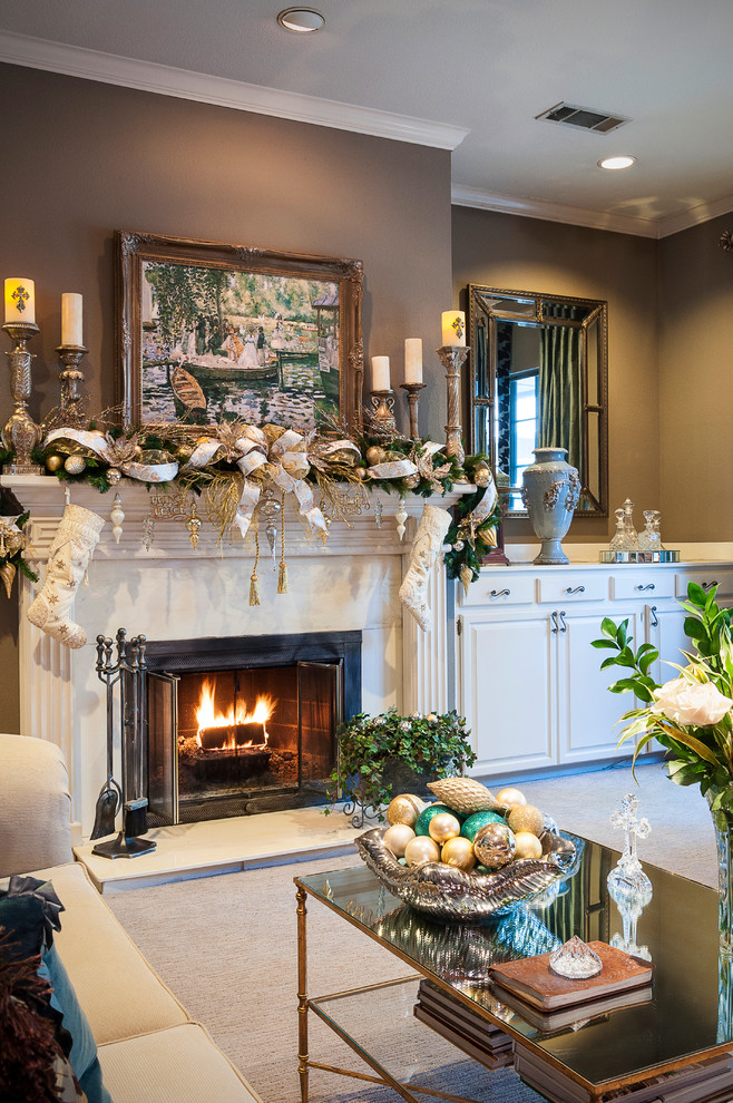 living room christmas decorations pictures and ideas