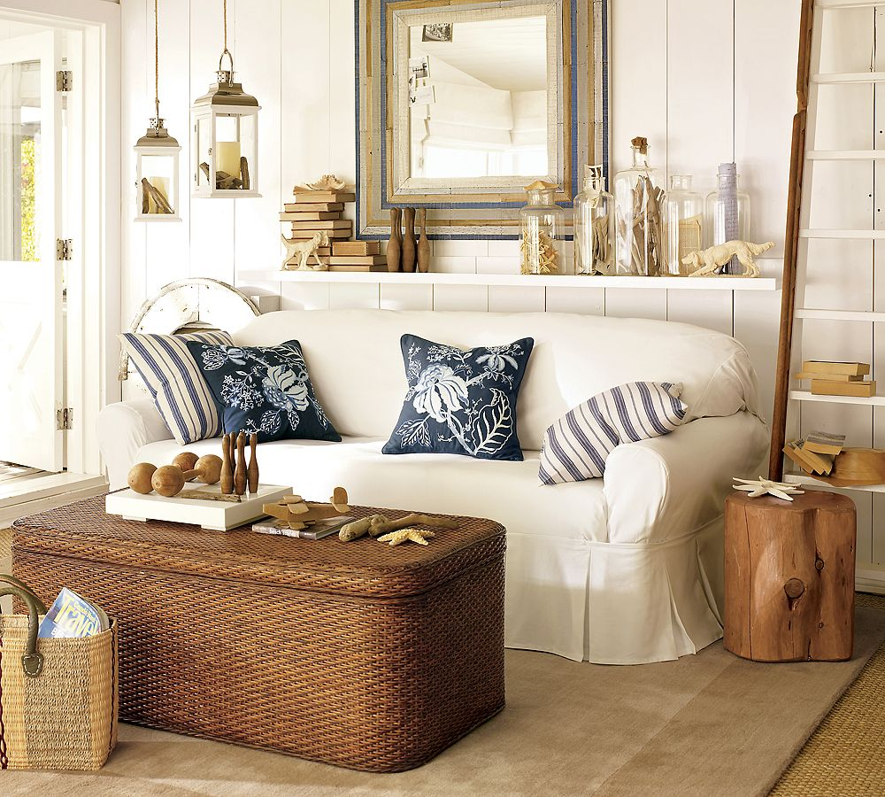 10 beach house decor ideas for Beach house themed decorating ideas