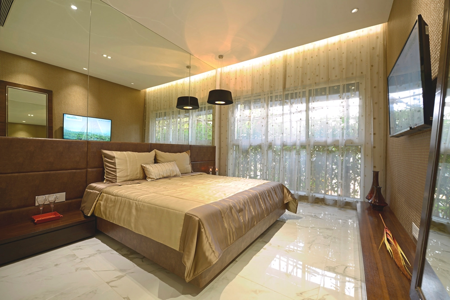 Luxury Residence Apartment In Mumbai By Ga Design