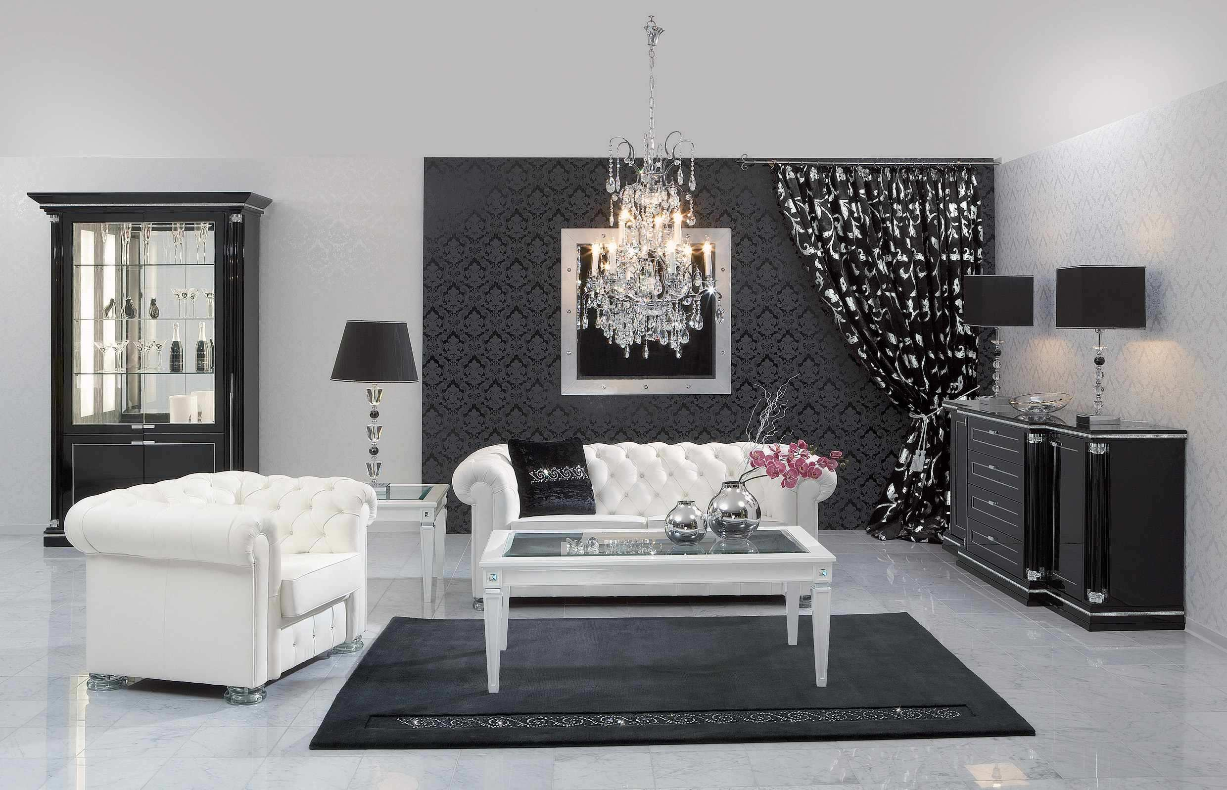 black and white accessories for living room black and white living room interior design ideas 27894