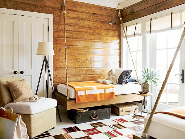 16 beach style bedroom decorating ideas for Small beach house decorating ideas