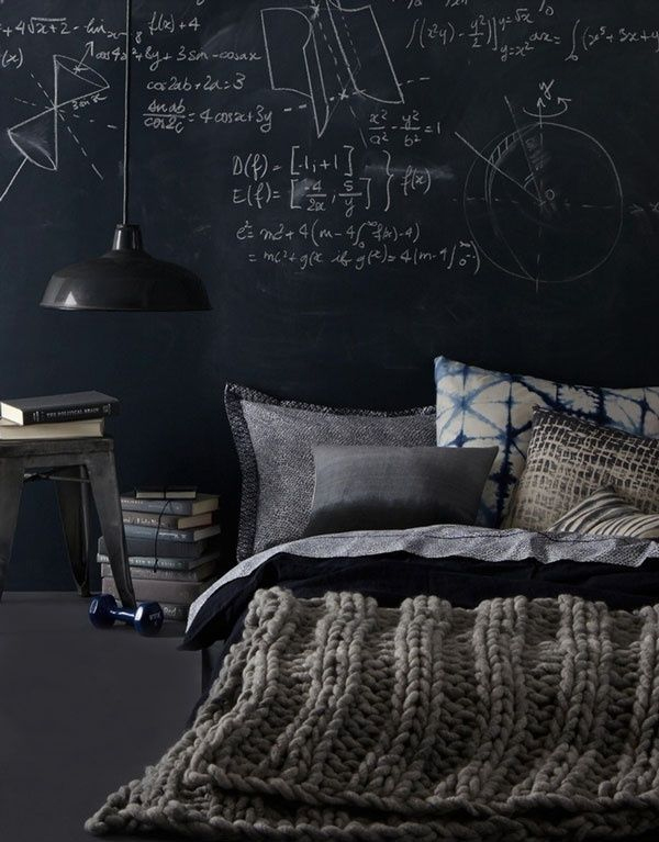 DIY Ideas Chalkboard Headboard Photography