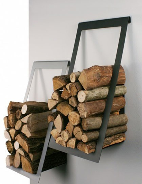 wood storage ideas inside house