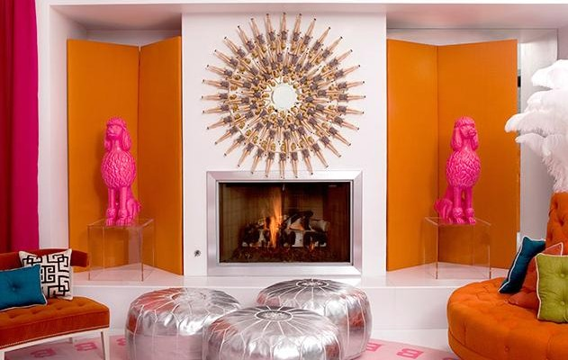 pink and orange living room design ideas pictures - Orange Living Room Design