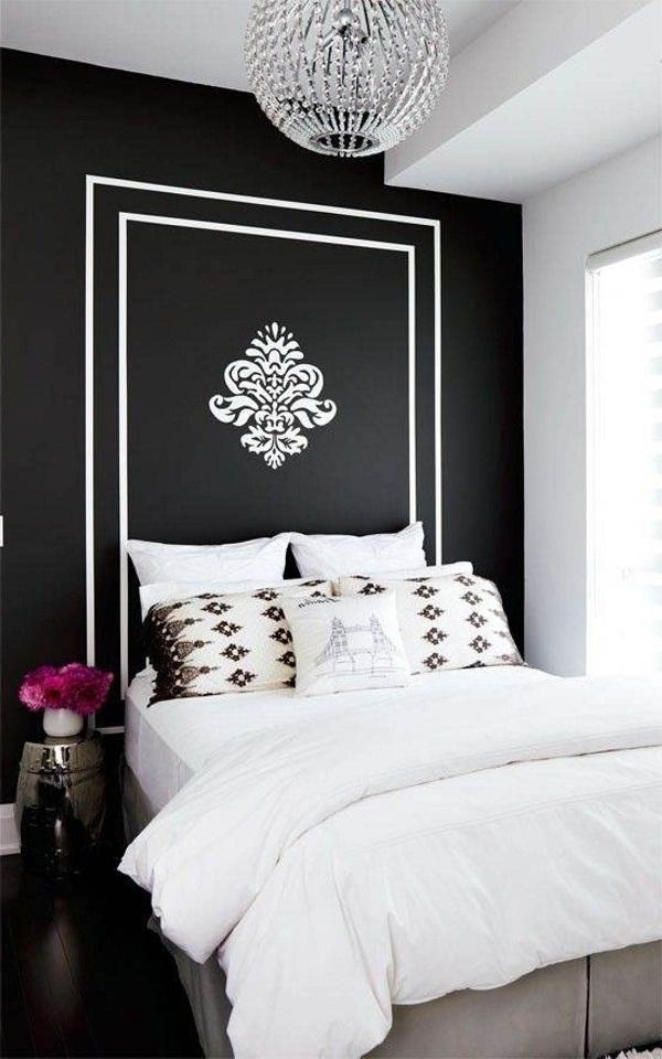 black and white bedroom ideas for small rooms. Black And White Bedroom Interior Design Ideas