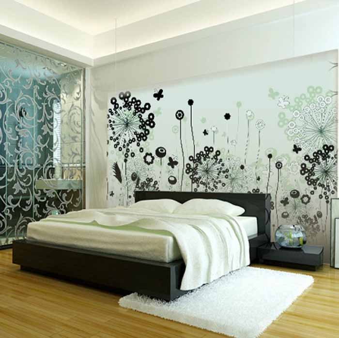 Black And White Paintings For Bedroom Bedroom Sets Black Modern Bedroom Black Bedroom Furniture Sets Pictures: Black And White Bedroom Interior Design Ideas