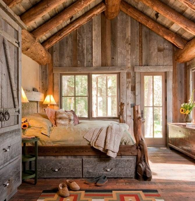Rustic Design Ideas rustic bedrooms michael lee malibu california Cozy Rustic Bedroom Designs