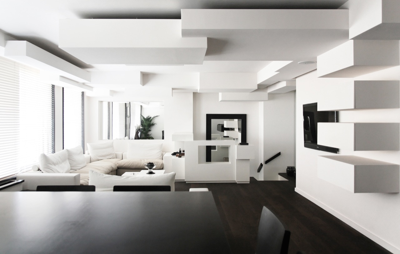Design Black And White Home Interior