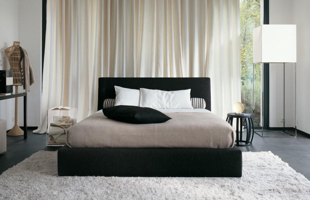 simple black and white bedroom decor - Black And White Bedroom Decor