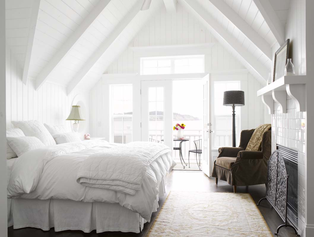 white bedroom inspirations sprinkle different colors - White Bedrooms