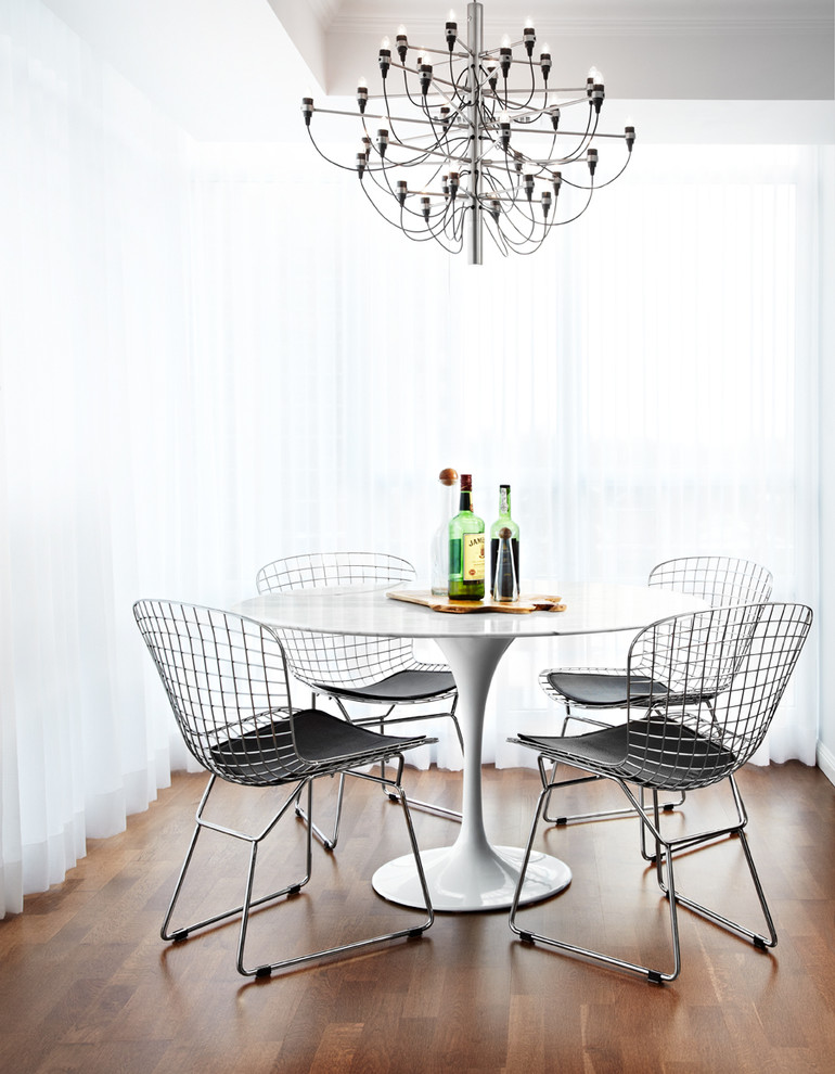 Amazing Bertoia Chair decorating ideas for Dining Room