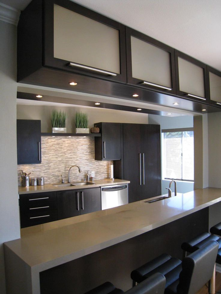 21 small kitchen design ideas photo gallery. Black Bedroom Furniture Sets. Home Design Ideas