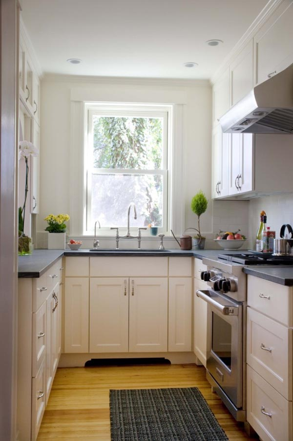 21 small kitchen design ideas photo gallery for Kitchen ideas small kitchen