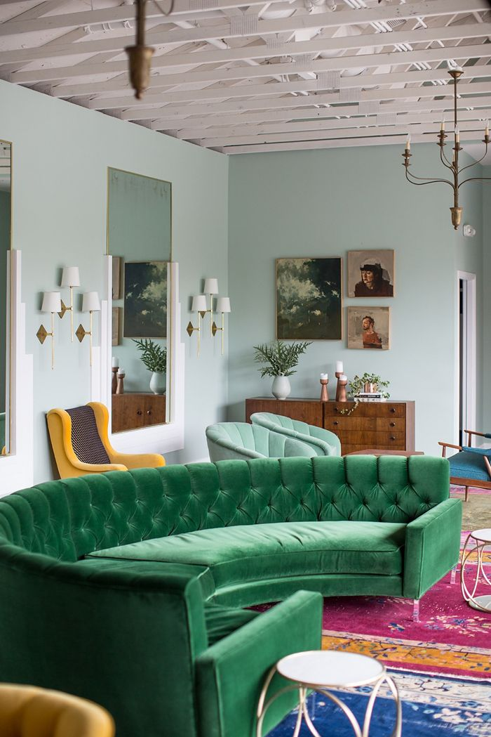 Green sofa design ideas pictures for living room - Green living room ideas decorating ...