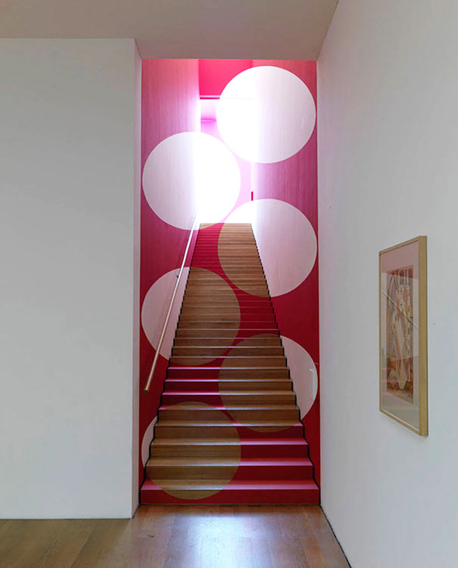 23 Dots 3d Staircase Design