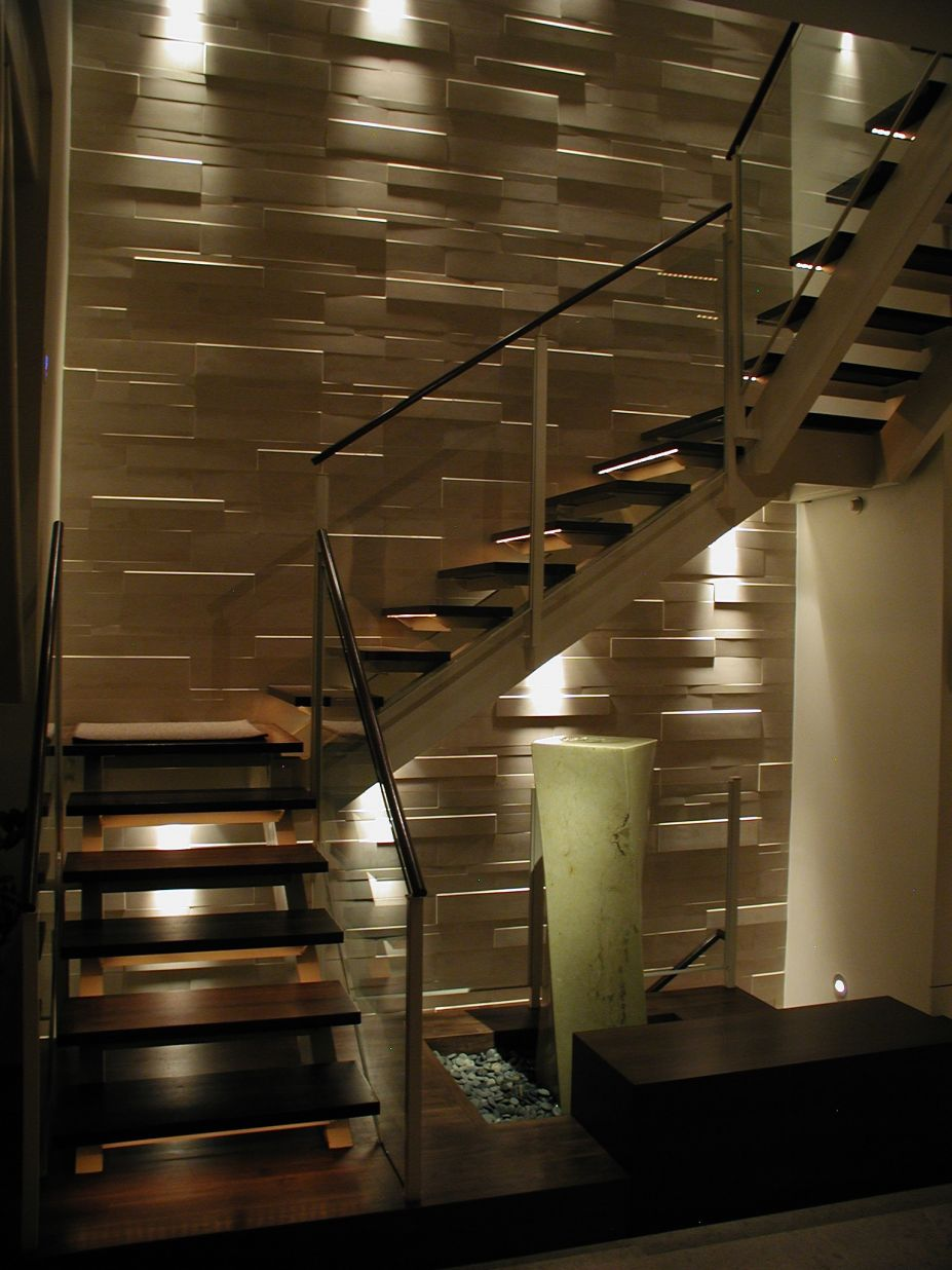 stair lighting. Stair Lighting Ideas. Design Ideas T