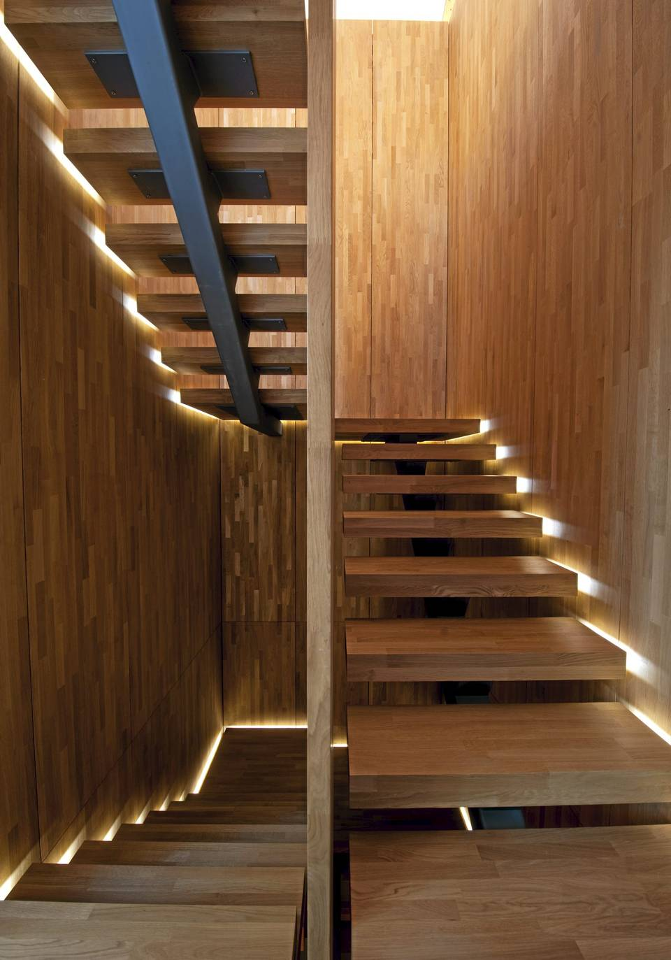 Staircase Light Feature