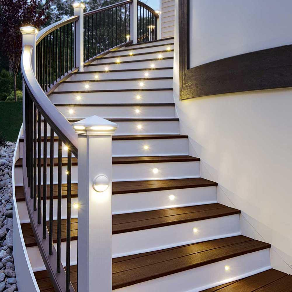 stair lighting. Stair Lighting Indoor. Small Yellow Color Indoor . O