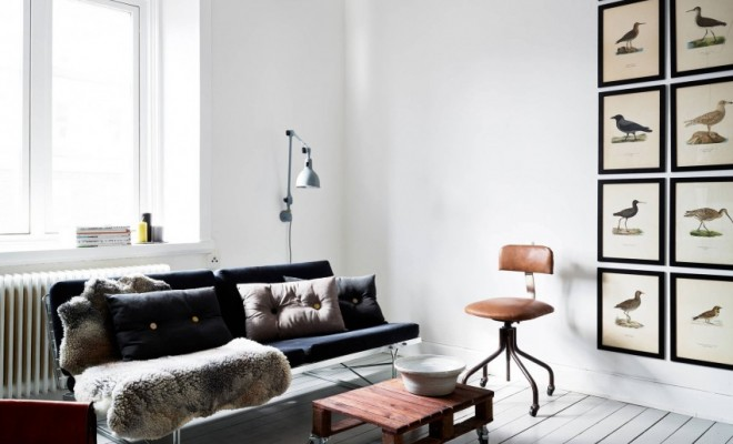 Beautiful Small Apartment Located In Stockholm Sweden - Sleek-and-beautiful-apartment-in-sweden