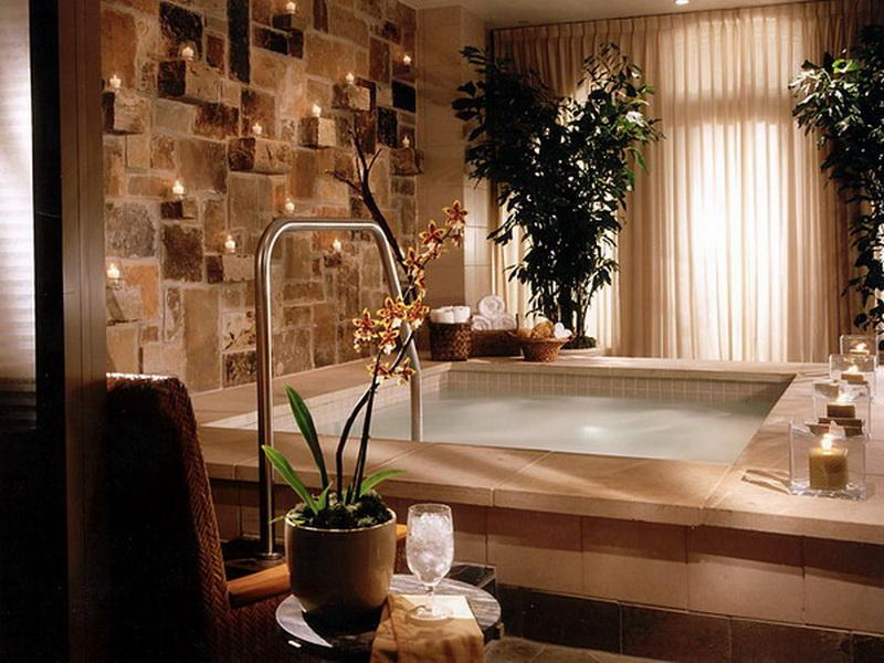 Wall Decor Ideas For Spa : Spa inspired bathroom decorating ideas