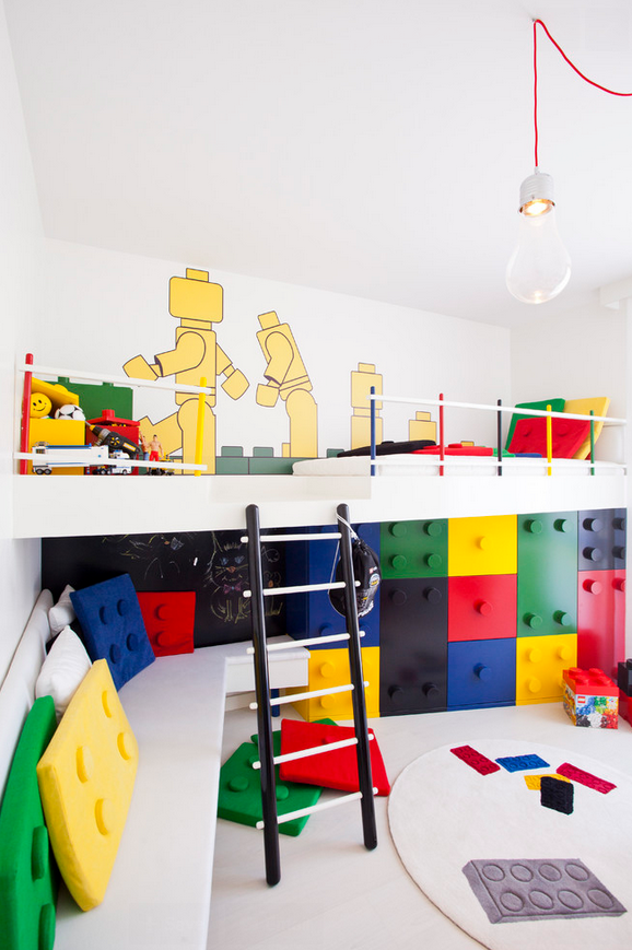 Modern Kids Play Room