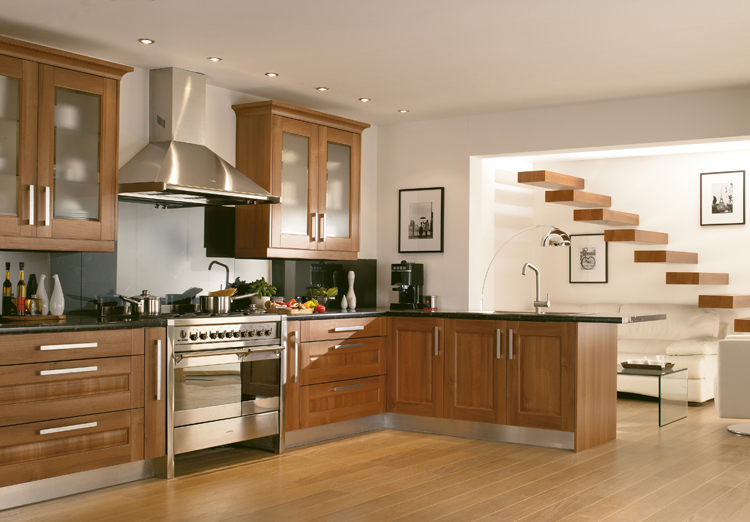 Marvelous Wooden Kitchen Design Ideas Part - 2: Modern Style Wooden Kitchen Design Ideas. Darnbrook Walnut Display Image