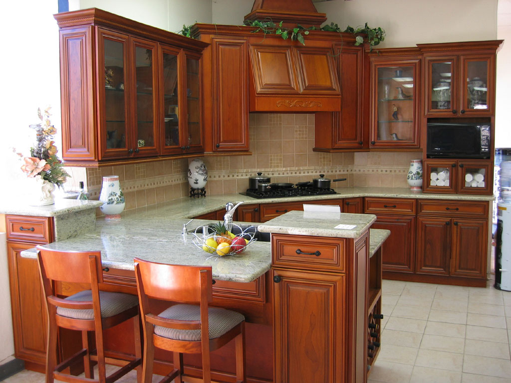 Wood Kitchen Cabinets Design. Finding The Idea Of Contemporary Wooden  Kitchen