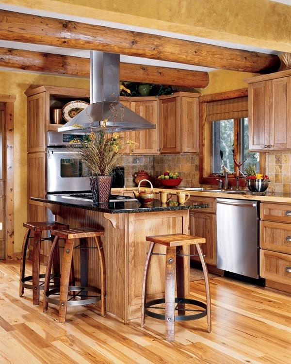 Modern Mini Kitchen Design: 33 Modern Style Cozy Wooden Kitchen Design Ideas