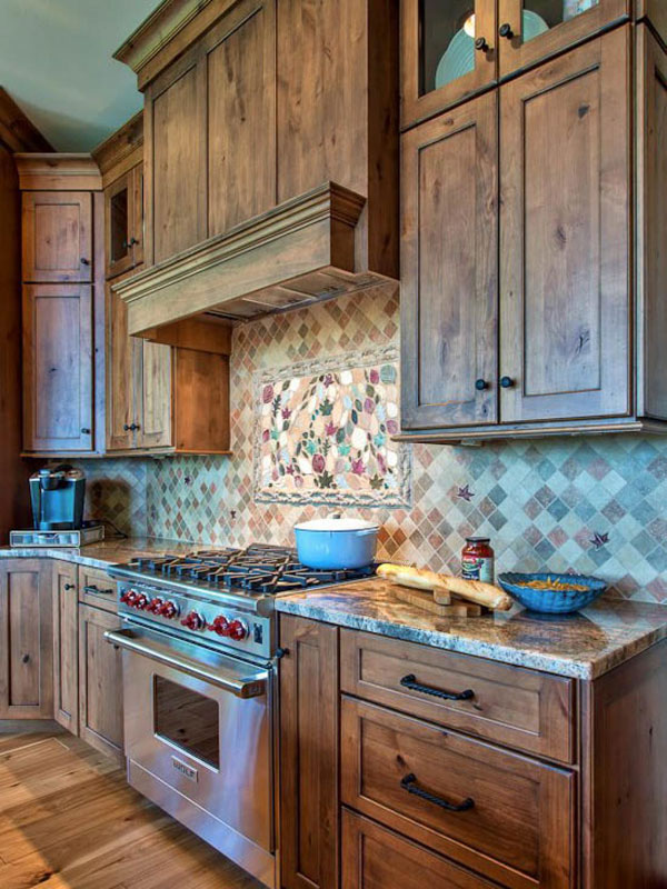 Wooden Kitchen Designs Photos