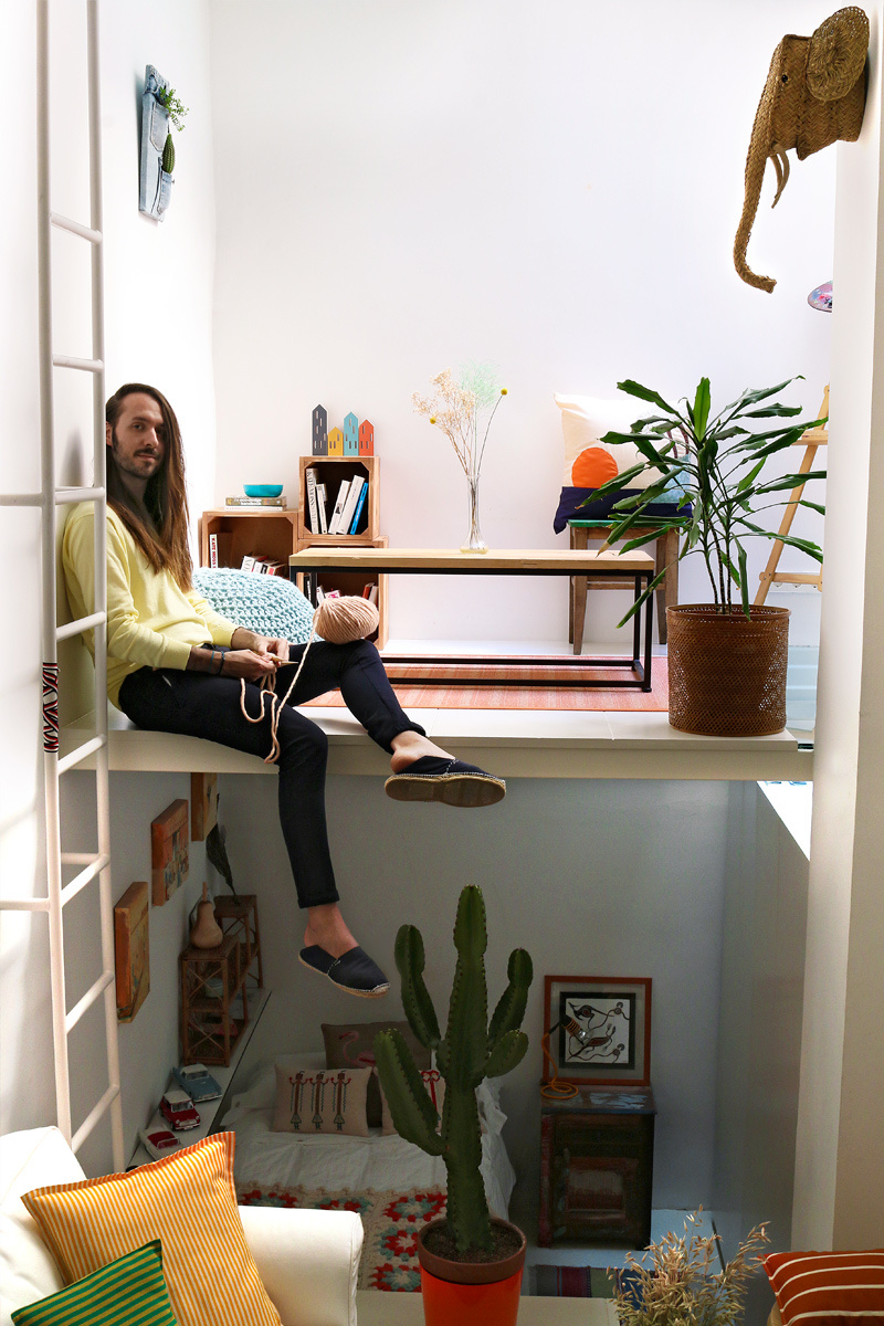 Alberto Bravo Reyes tiny Apartment