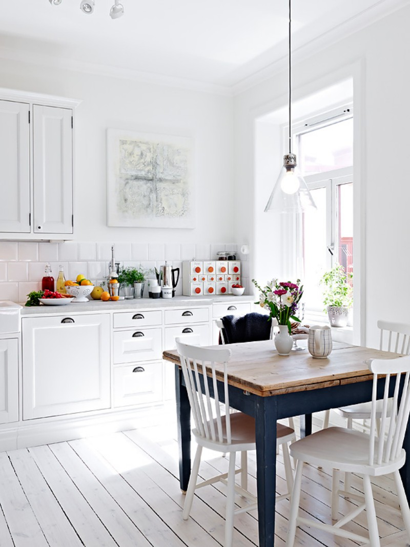Ideas to decorate scandinavian kitchen design for Kitchen ideas pictures designs