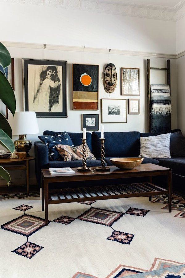 A brisbane 1920s inspired home is going viral on reddit for 1920s living room ideas