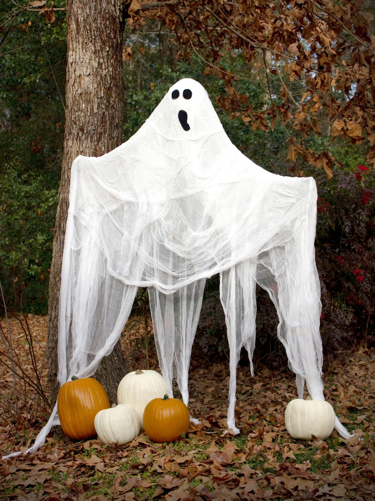 halloween decorations ghosts - Halloween Decoration Pictures