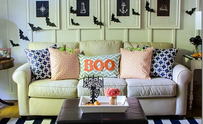 48 Stylish Living Room Halloween Decorations Ideas Interesting Living Room Ideas Decor