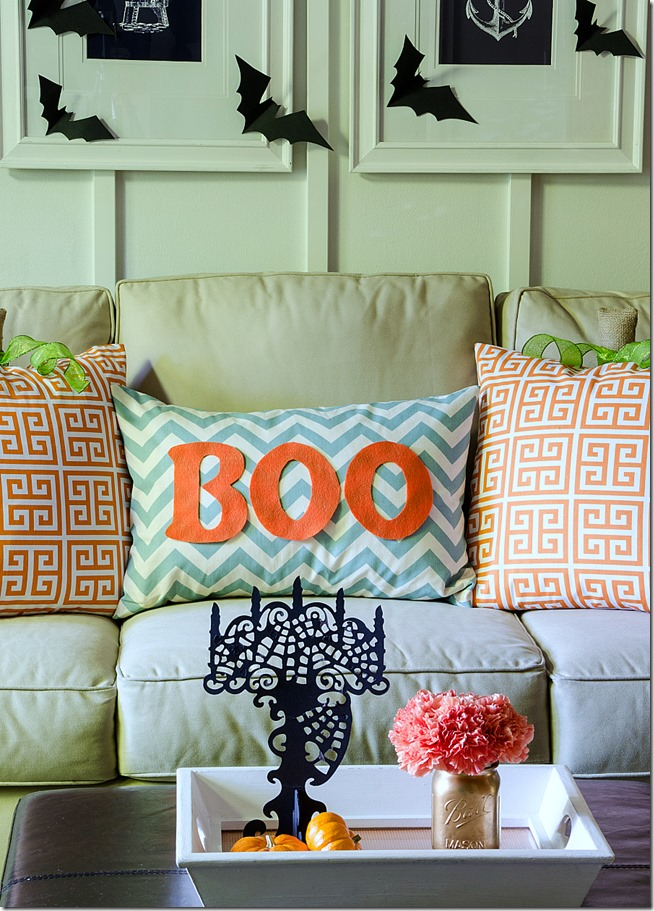 Halloween Living Room Sofa Pillow Decor
